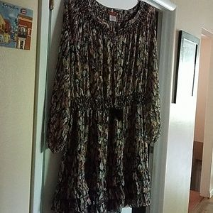 Scully feather dress